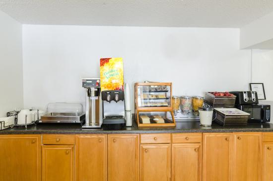 Summersville, Wirginia Zachodnia: Breakfast Area