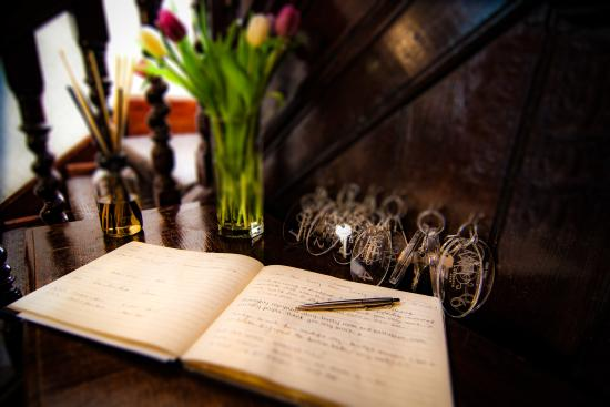 The Weymouth Arms: guest book