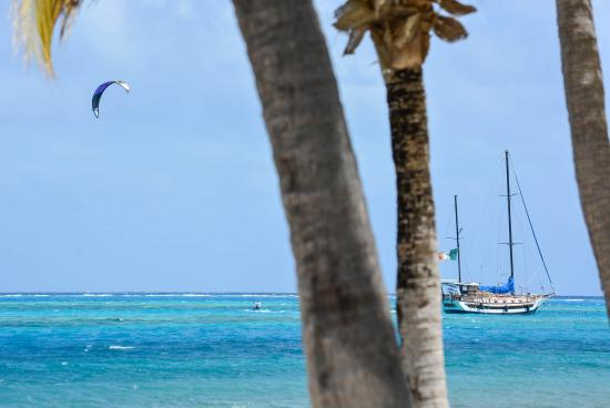 North Sound, Virgin Gorda: Carib Kiteboarding, Virgin Gorda, BVI