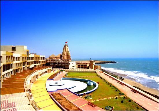 Nearest To Shri Somnath Temple And Best Location Sea View Review Of Sagar Darshan Ahigruh Tripadvisor