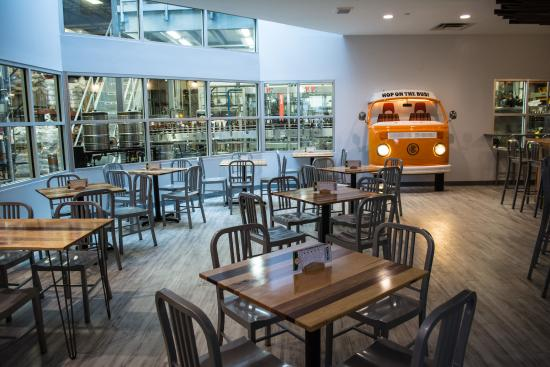 Otter Creek Brewing: Newly Renovated Dining Area