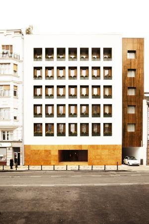 Square Nine Hotel Belgrade: Square Nine Exterior - Front