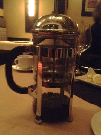 Ferndale, WA: French coffee press