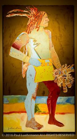 new mexico museum of art santa fe fritz scholder s super indian rh tripadvisor co za