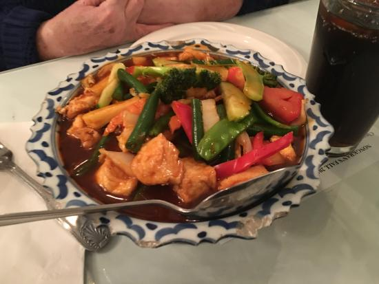 Thai Basil Restaurant: Tofu with vegetables
