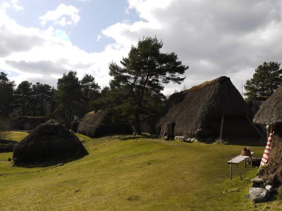 Newtonmore, UK: The Black house village