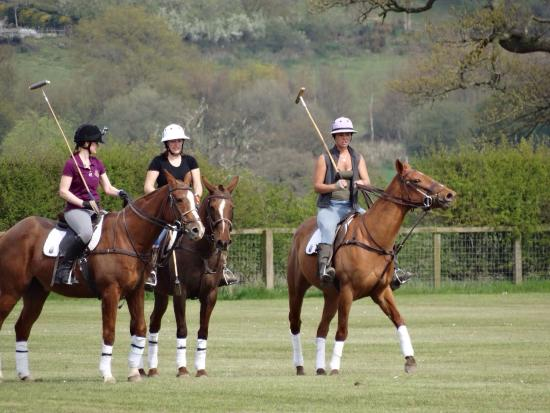 Resting my aching muscles after having the most fantastic day at J F Polo Academy!!
