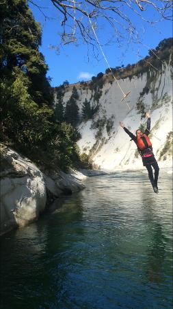 Mangaweka, Nouvelle-Zélande : Dive into the pristine rive gorge