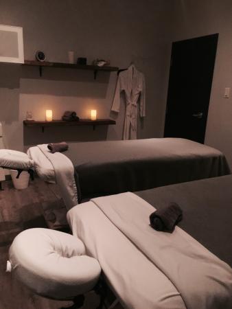 L'Ile-Perrot, Canada: salle de massage en duo!