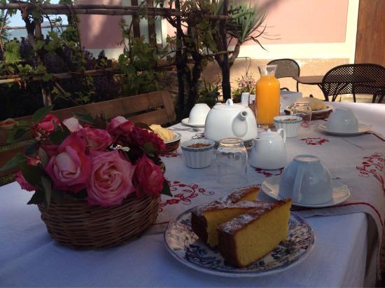 Cilento and Vallo di Diano National Park, Italy: Colazione in giardino