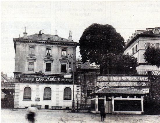 Café Vaudois Picture Of Brasserie Restaurant Le Vaudois Lausanne