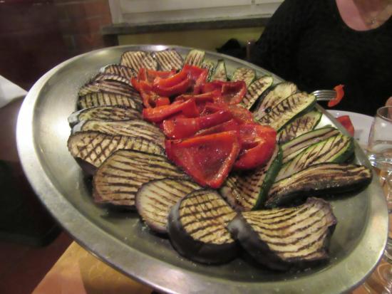 Province of Biella, İtalya: verdure grigliate