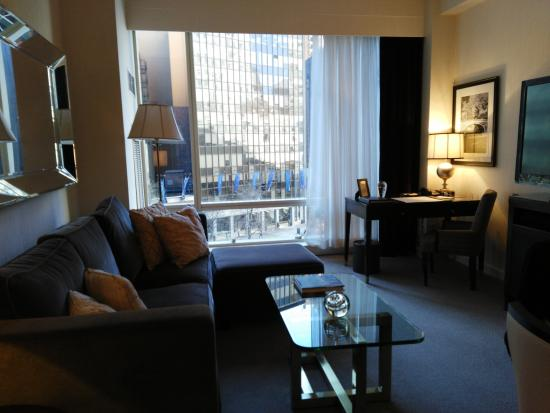 Trump International Hotel And Tower New York Living Room Area