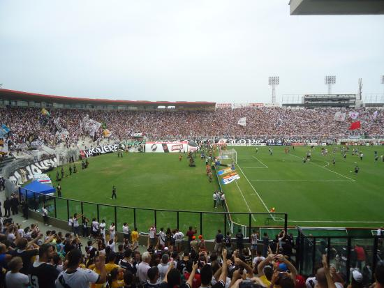 79a9610f4f Vasco supporter s section. Rasta! - Picture of Sao Januario Stadium ...