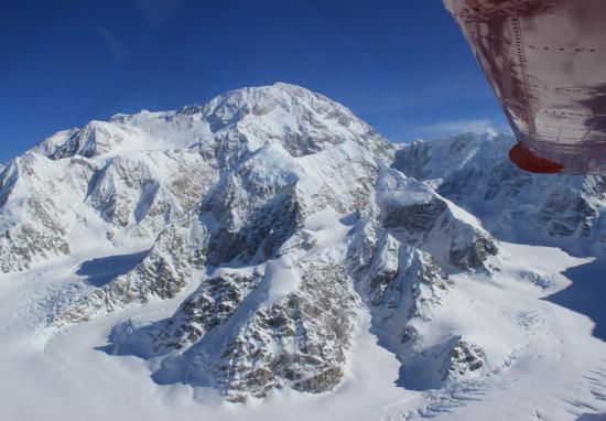 Талкитна, Аляска: View from the plane