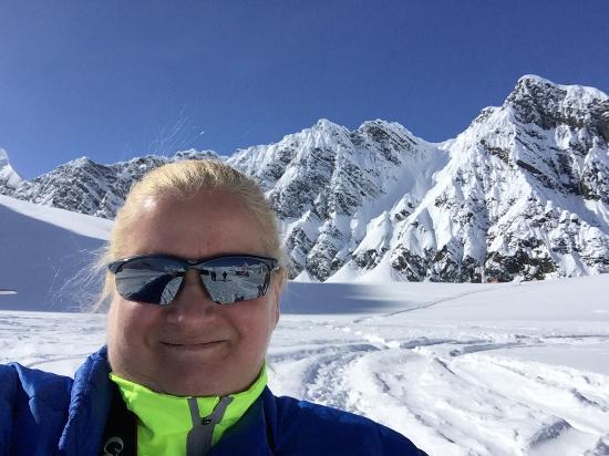 Талкитна, Аляска: Obligatory Glacier Selfie