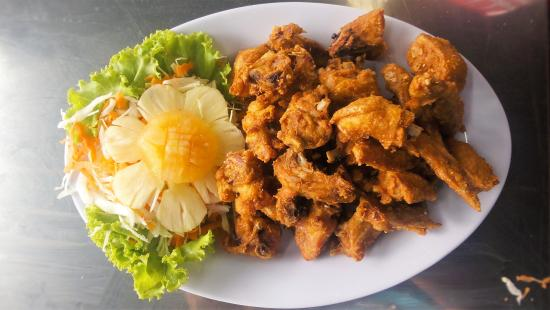 Changloon, Malesia: Garlic Chicken