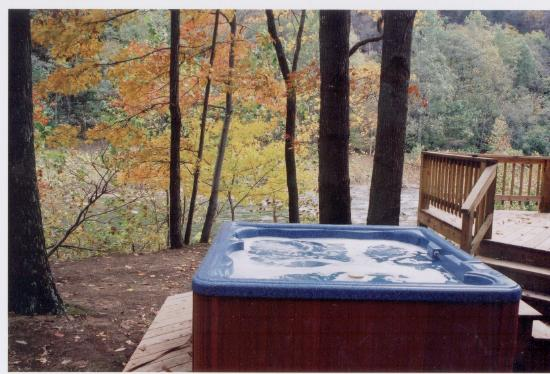 romantic log cabin with jacuzzi fireplace and private outdoor hot rh tripadvisor co za