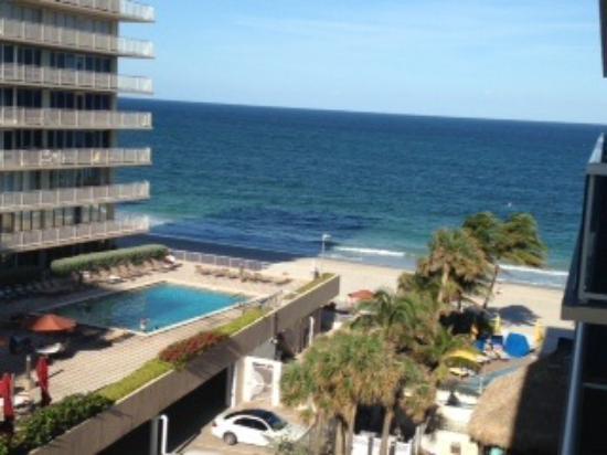 view from balcony partial ocean view rm 610 picture of ocean sky rh tripadvisor com