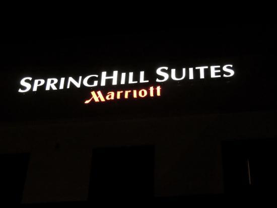 SpringHill Suites Corona Riverside: Hotel Name Logo.