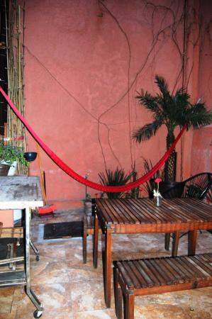 Hostel Suites DF: Terraza en primer piso