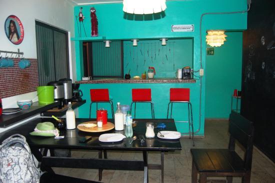 Hostel Suites DF: Zona de comedor