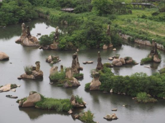 Queshi Scenic Resort: Rock formation
