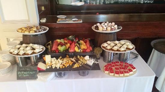dessert table picture of odyssey restaurants los angeles rh tripadvisor com