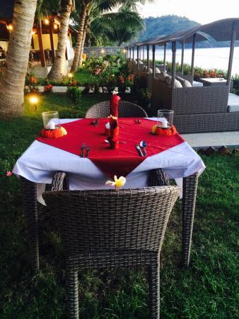 Pemenang, Indonesia: Preparation for romantic dinner