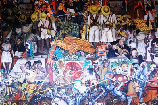 Foto de palacio nacional ciudad de m xico murales de for Un mural de diego rivera