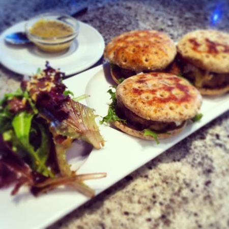 Sapphire Cafe & Lounge: Sapphire Sliders!  Now on the new Spring menu!