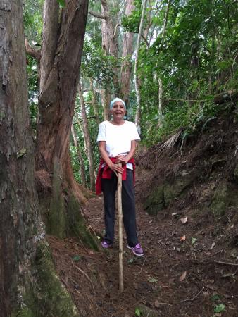 Casa Flamboyant : Hiking the trail - what a joy!