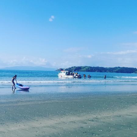 Isla Waiheke, Nueva Zelanda: Onetangi Beach