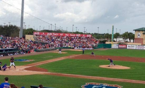 Jupiter, FL: Matt Harvey pitching for the Mets