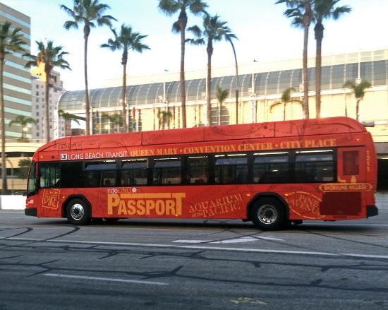 Long Beach Transit Pport Bus