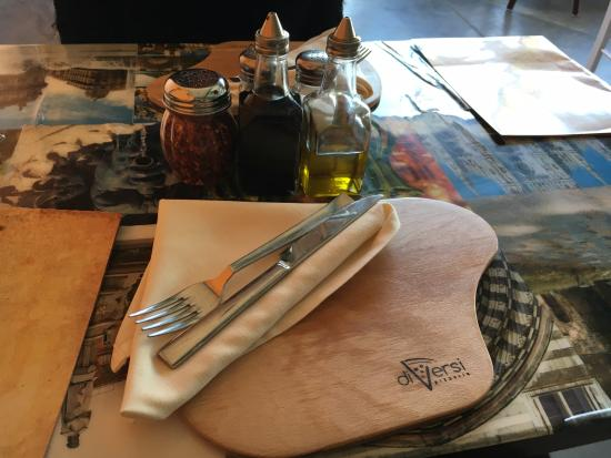 Cranston, RI: the cutlery setup