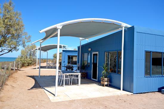Остров Тевенард, Австралия: Beach front Cabins
