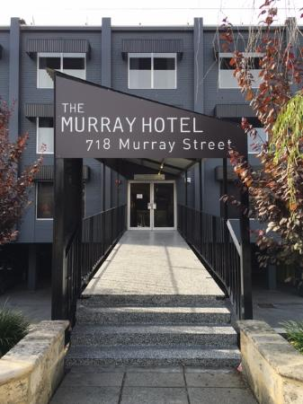 The Murray Hotel Perth: Front entrance