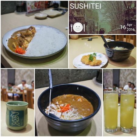 makanan di sushitei picture of sushi tei beachwalk kuta tripadvisor rh tripadvisor com