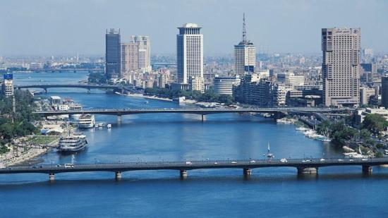 Nabq Bay, Egipt: Cairo with  great view to the River Nile