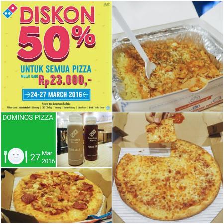 Pizza Picture Of Domino S Pizza Kuta Tripadvisor