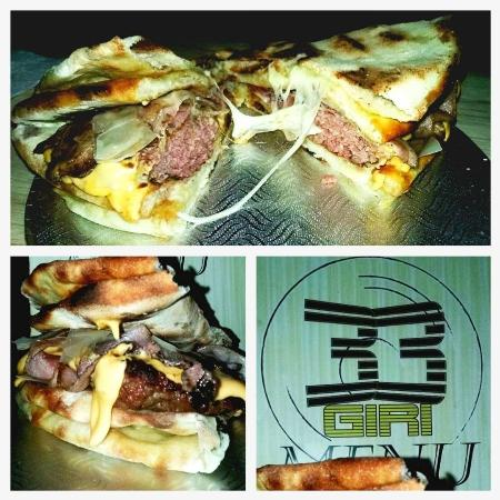Campi Salentina, Italia: PizzaBurger