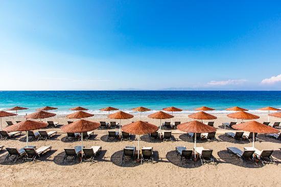 Sheraton Rhodes Resort : Sheraeton Rhodes Resort - Private Beach