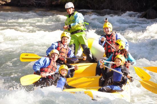 Rafting Sort Rubber River: Bajada en rafting por el Noguera Pallaresa