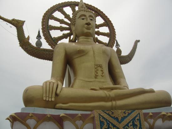Bophut, Tailandia: веселый Будда