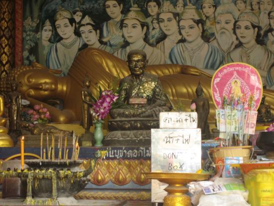 Bophut, Thailand: лежащий Будда
