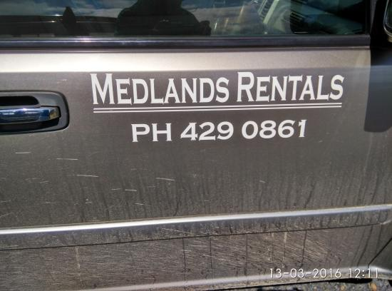 Whangapara, Yeni Zelanda: claris airport - for rent a car