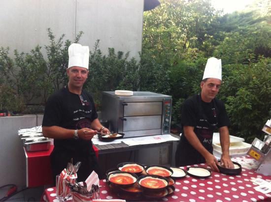 Pfungstadt, Tyskland: Pizzeria Sole D'Oro