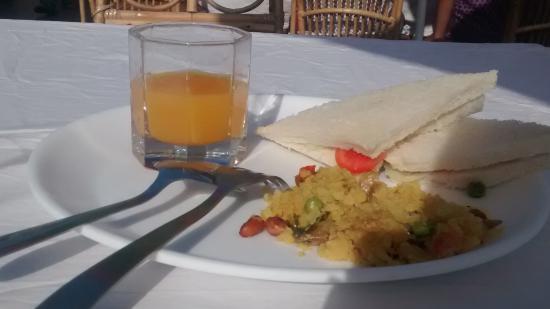 Hotel Grace Residency: breakfast options
