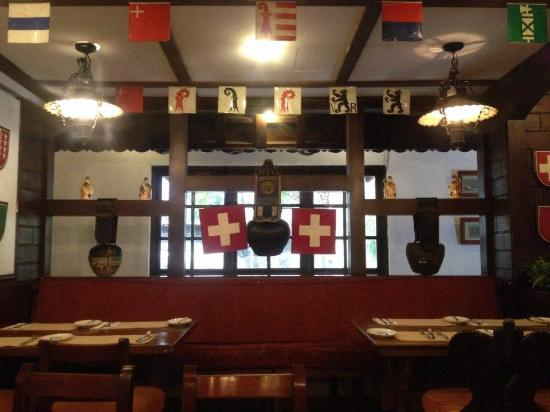 Old Swiss Inn: Swiss-theme restaurant